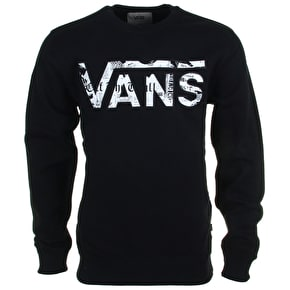 Vans Classic Crew Sweater - Black/Checkered Past