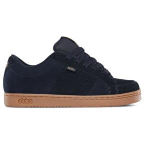 Etnies Kingpin Skate Shoes - Navy/Gum