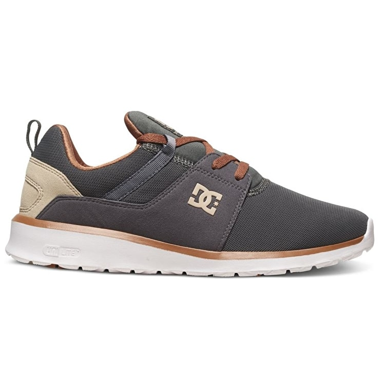DC Heathrow Shoes - Charcoal Grey