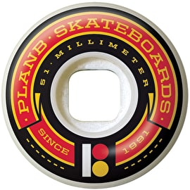 Plan B Team Banner Skateboard Wheels - 51mm