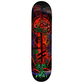 Deathwish Greatest Hits Skateboard Deck - 7.875