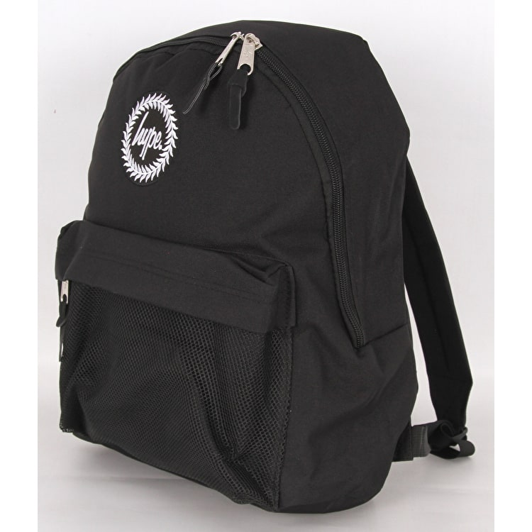 Hype Mesh Backpack - Black/White