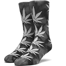 Huf Crystal Wash Plantlife Socks - Black