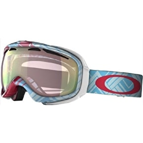 Oakley Elevate Snow Goggles - Braided Blue/VR50 Pink Iridium