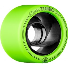 Rollerbones Turbo 62mm Derby Quad Wheels 92A (4pk)