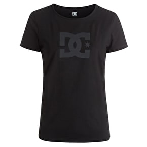 DC Star Womens T-Shirt - Black