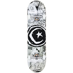 Foundation Custom Skateboard - Star and Moon Sketchbook - 8.125