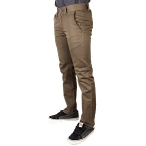 Kr3w K Slim Chinos - Dirty Olive