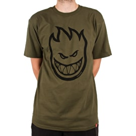 Spitfire Bighead T Shirt - Military Green