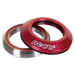 Neco Integrated Scooter Headset - Red