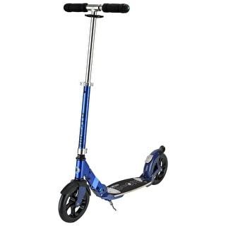 Micro Flex Deluxe Folding Commuter Scooter - Blue