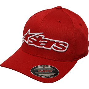 Alpinestars Corp FlexFit Cap - Red/White