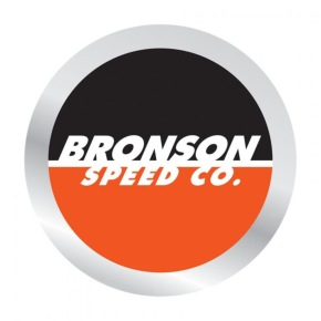 Bronson Speed Co. Spot Logo Foil Skateboard Sticker - 2.5
