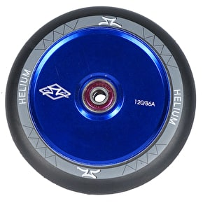AO Helium 120mm Scooter Wheel - Blue