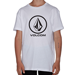 Volcom Kids Circle Stone T-Shirt - White