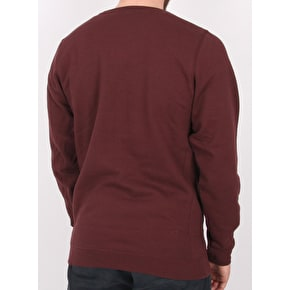 Diamond OG Sign Crewneck - Burgundy