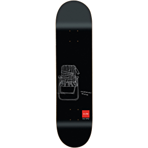 Chocolate Matte Sketch Series Skateboard Deck - Tershy 8.375