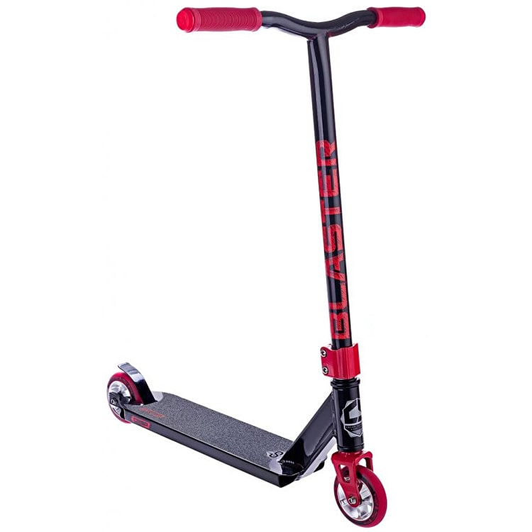Crisp Blaster 2016 Complete Scooter - Black/Red Flake
