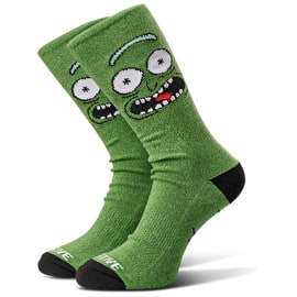 Primitive x Rick And Morty - Pickle Rick Socks - Green