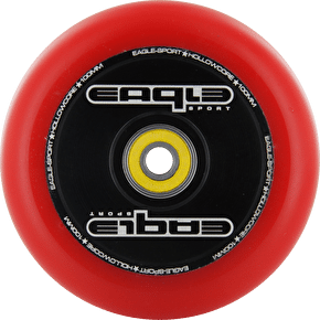 Eagle Hollow Tech Signature Core Red PU Wheel  - 100mm