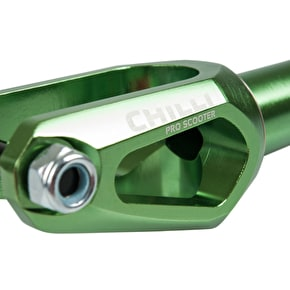Chilli Pro SCS/Spider HIC Slim Cut Scooter Forks - Green
