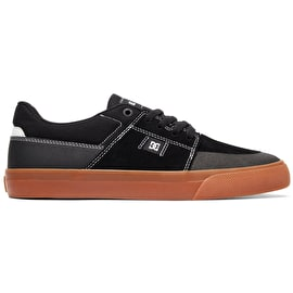 DC Wes Kremer Skate Shoes - Black/Gum