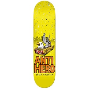Anti Hero BA 1st Skateboard Deck - 8.25