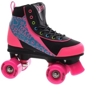 Luscious Retro Quad Skates - Disco Diva