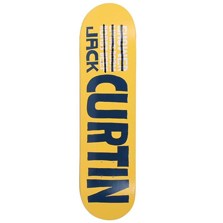 Skate Mental Curtin Name Skateboard Deck 8""