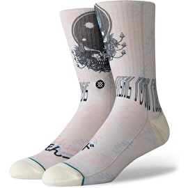 Stance Steal Your Face Socks - Natural