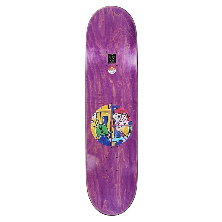 Polar Debacle Skateboard Deck - Herrington 8.125""