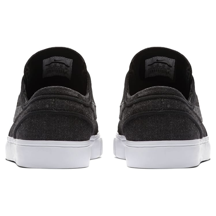 Nike SB Zoom Stefan Janoski Canvas Decon Skate Shoes - Black/Anthracite/White