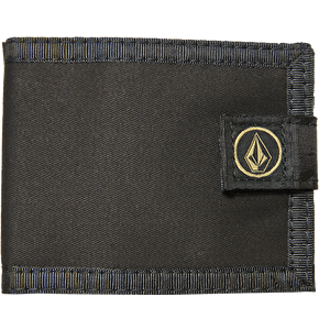 Volcom Circle Stone Cloth Wallet - Black