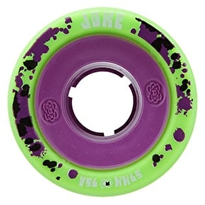ATOM JUKE GAMETHANE 59mm Quad Derby Wheels 95A (4pk) Green Purple
