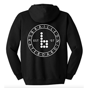 Braille Circle Pullover Hoodie