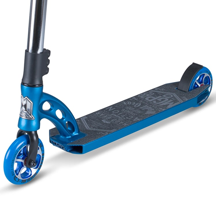 MGP VX7 Team Complete Scooter - Electric Blue/Chrome