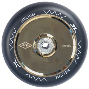 AO Helium 110mm Scooter Wheel - Gold