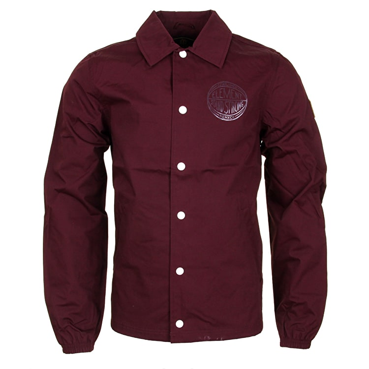 Element Murray Coaches Jacket - Napa Red