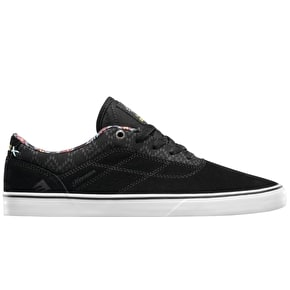 Emerica x Psochadelic Herman G6 Vulc Shoes - Black/Print