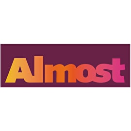 Almost CT Logo Skateboard Sticker