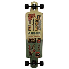 Arbor Artist Series Dropcruiser Drop Through Complete Longboard 38