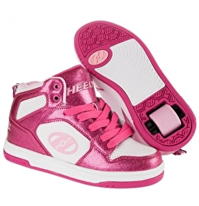 Heelys Flash 2.0 - Pink Glitter/White