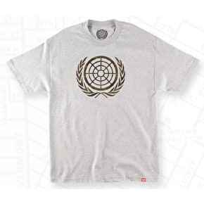The Berrics Icon II T-Shirt - Heather Grey / Camo