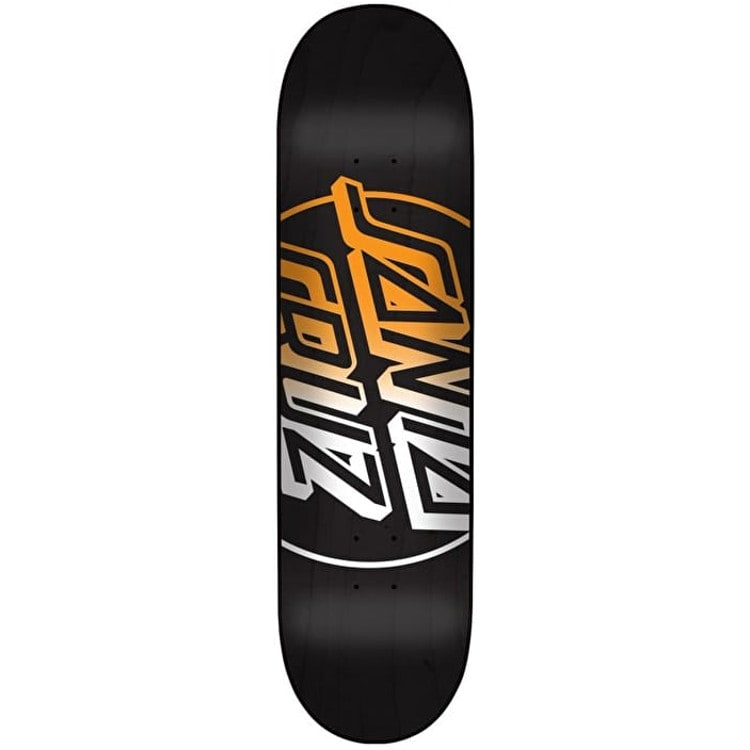 Santa Cruz Big Opus Fade Hard Rock Maple Skateboard Deck - Black/Multi 7.75""