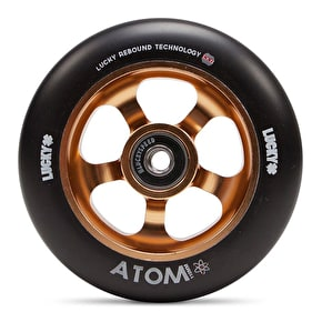 Lucky Atom 110mm Scooter Wheel - Copper/Black (Single)