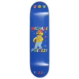 Pizza Stay Fresh Pulizzi Skateboard Deck 7.75