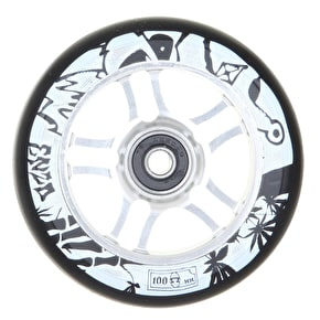 AO 100mm Enzo Scooter Wheel - Silver
