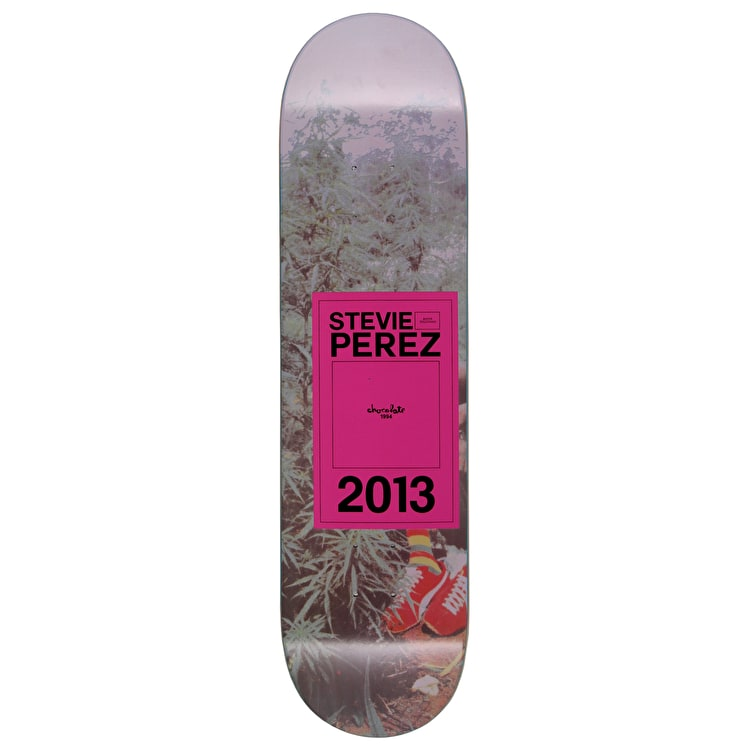 Chocolate Inaugural Perez Skateboard Deck - 8.125""