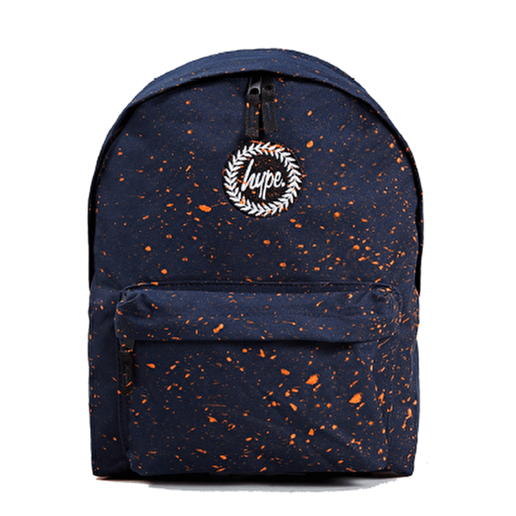 Hype Speckle Backpack-Navy