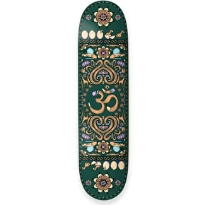 Drawing Boards Positive Symbols Skateboard Deck - OM 8.25